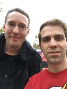 Fanboy-Selfie mit Bernd Perplies alias Wes Andrews